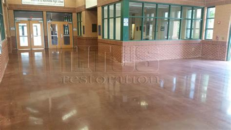 Green Building Solutions   Polished Concrete Floors  Titus