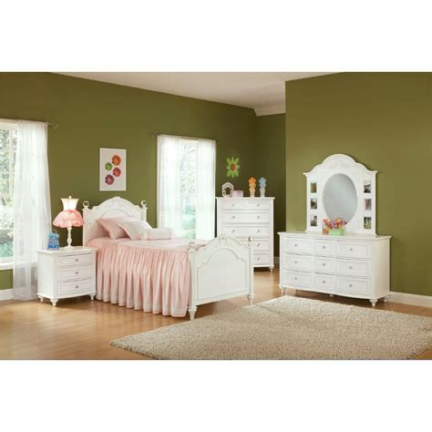 conns beds princess bedroom bed dresser mirror twin 2286