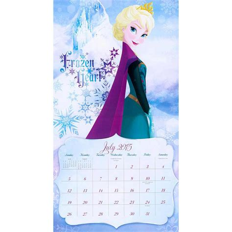 disney frozen calendar 2015 frozen 2015 wall calendar 9781629051352 disney princess