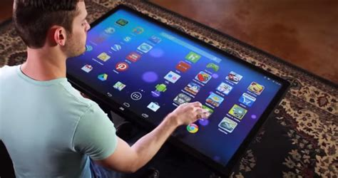Tablet Coffee Table Coffee Table Sized Android Tablet Business Insider