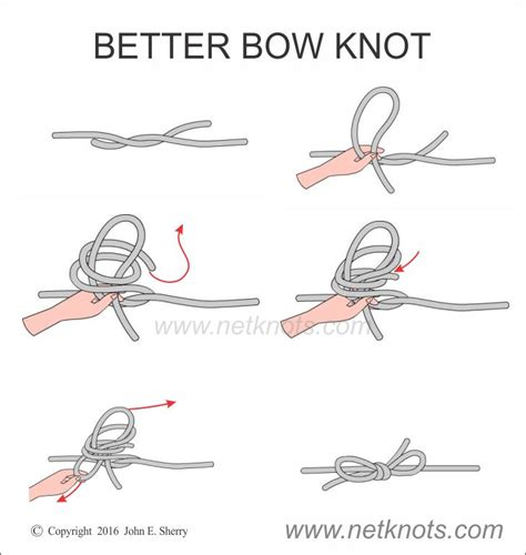 How To Tie A Knot With 3 Strings - better bow knot how to tie a better bow knot