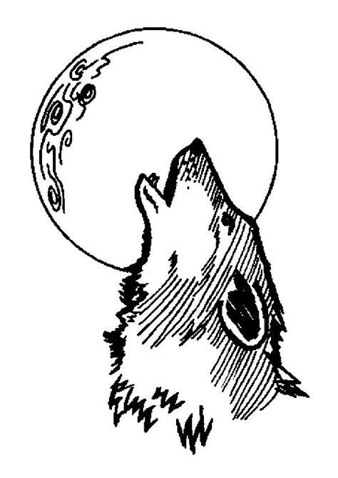 Dessin Loup Keith Haring