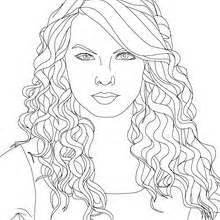 taylor swift coloring pages hellokids com