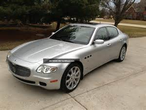 Maserati Sedans 2006 Maserati Quattroporte Executive Gt Sedan 4 Door 4 2l