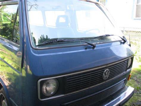 volkswagen vanagon blue buy blue 1985 vw vanagon in amsterdam york