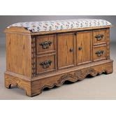 lane furnitureanniversary bench top cedar chesti love