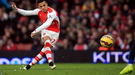 alexis sanchez goals video bbc sport arsenal 3 0 stoke city