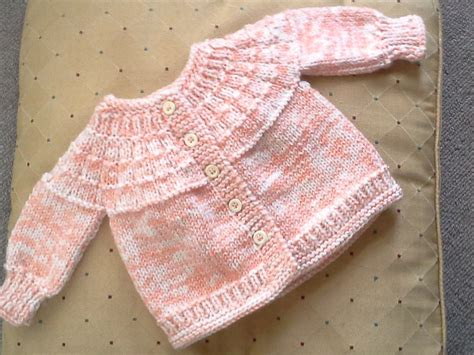 yoke knitting pattern 2014 161 ribbed yoke baby sweater diane s thoughts and