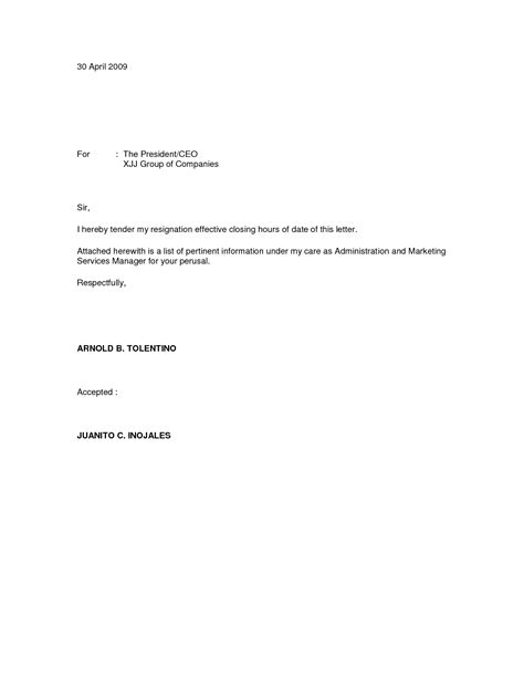 Resignation Letter For Chief Resignation Letter Format Free Downloadable Letter Of Immediate Resignation Effective Saying