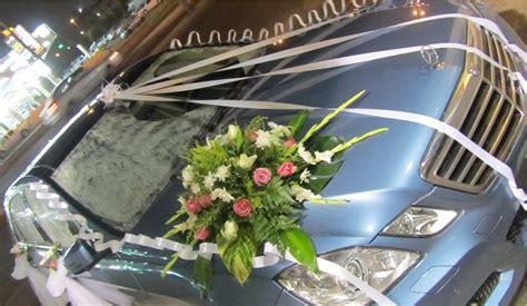 Dekorasi Mobil Dekorasi Mobil Pengantin Koleksi Rangkaian Bunga