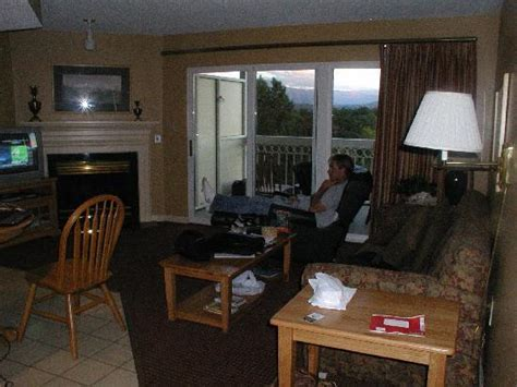 the living room reviews the living room picture of ridge resort pigeon forge tripadvisor