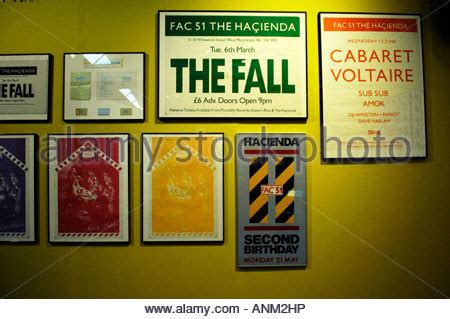 house music in manchester fac 491 hacienda the exhibition urbis manchester nightclub factory stock photo