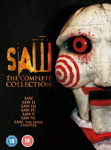 What The Saw 1 saw 1 7 box set dvd zavvi