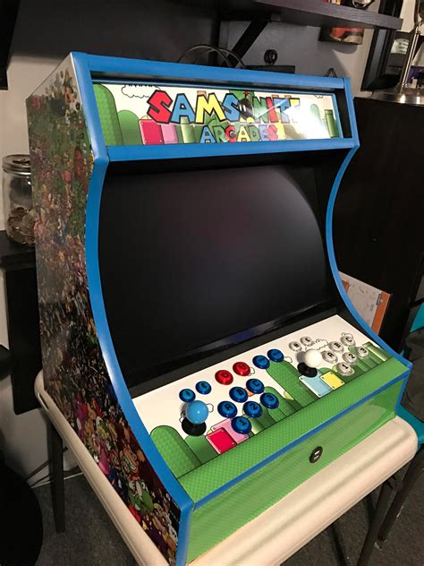 best arcade cabinets for home bartop arcade cabinet plans the geek pub