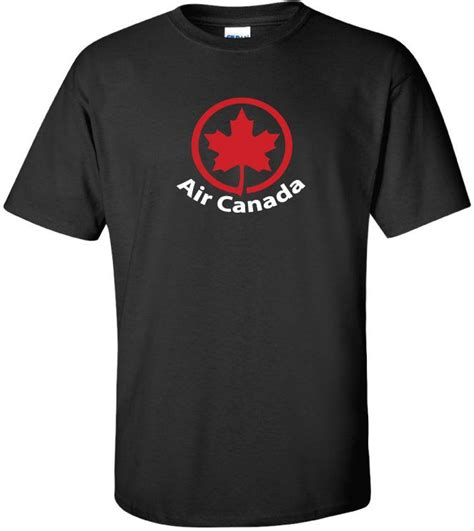 air canada canadian airlines vintage logo t shirt ebay
