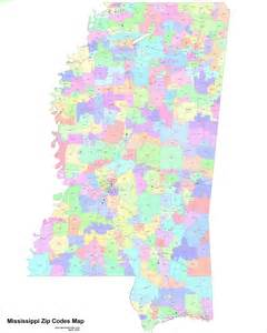 Map Of Zip Codes Mississippi Zip Code Maps Free Mississippi Zip Code Maps