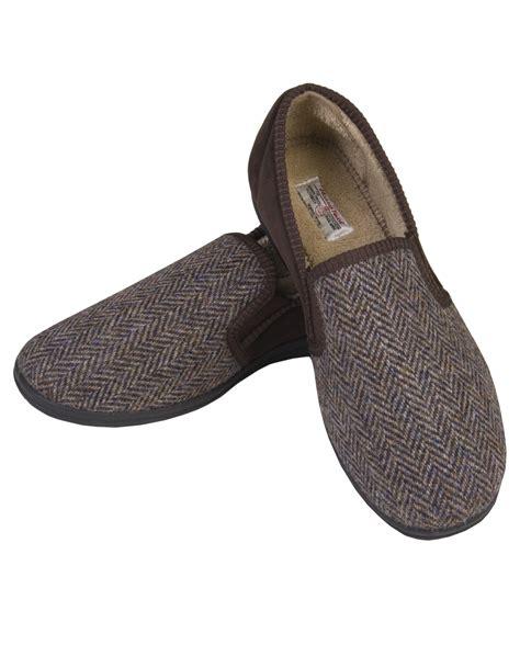 tweed slippers the edinburgh woollen mill harris tweed trapper hat and