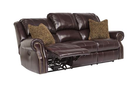 Furniture Power Recliner by U7800287 Furniture Walworth Blackcherry Reclining