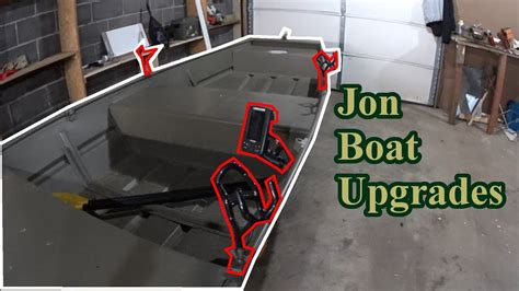 jon boat fish finder jon boat upgrades rod holders and a no drill fish finder