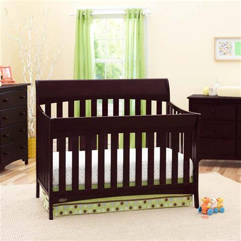 Graco Rory Convertible Crib Graco Rory 5 In 1 Convertible Crib In Espresso 04540 469