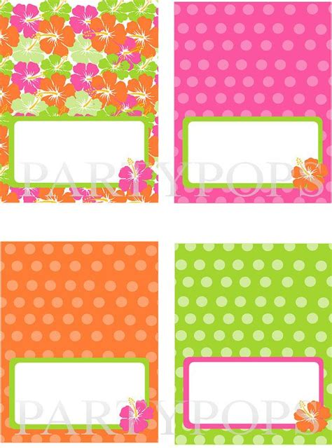 free food label tent cards template diy luau food label or name place card tabel tent