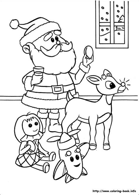 printable coloring pages rudolph the nosed reindeer 17 best images about rudolph on