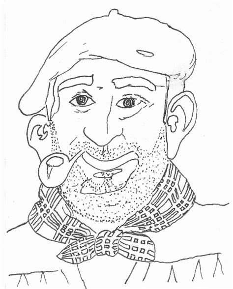 dibujos de navidad para colorear del olentzero marrazkiak eta horrelakoak dibujos y cosas de esas