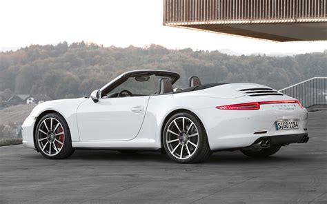 2013 Porsche 911 Carrera 4 And 4s First Drive Motor Trend