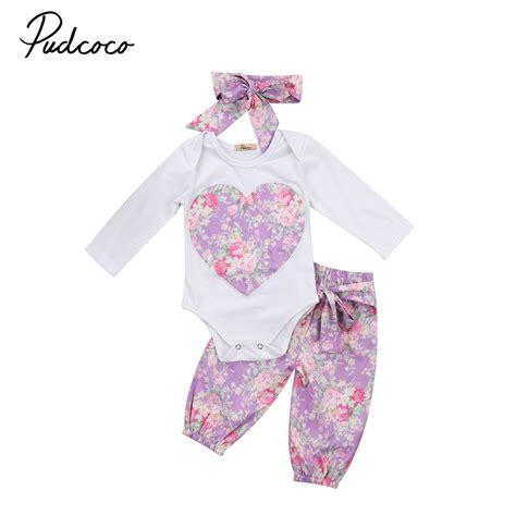 Bodysuit Jumper Baby 3pcs babies 3pcs floral clothing set baby infant toddler