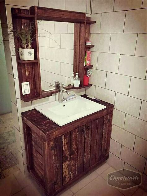 pallet ideas for bathroom easy and clever diy projects with used wooden pallets