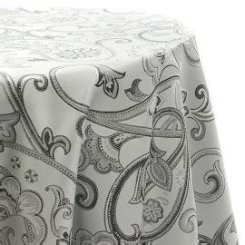 Anara Coco Aexa patterned plain satin backdrop table cloth