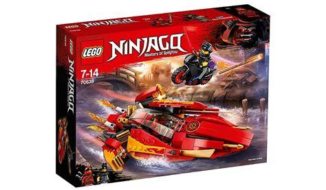 lego ninjago boat lego 70638 ninjago katana v11 boat and bike toy toys