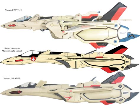 Diecast Yamato Macross Plus Yf 21 scorched earth toys 187 yamato 1 72 yf 19 and vf 19a