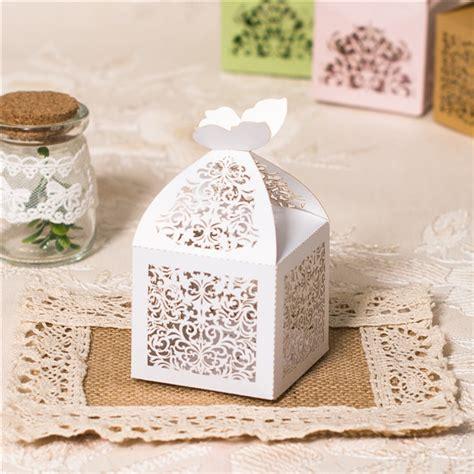 scatoline porta confetti scatoline portaconfetti bianche traforate bomboniere