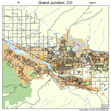 grand junction colorado map grand junction co pictures posters news and on