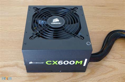 Power Supply Corsair Cx 500 W review corsair cx series modular cx600m atx power supply