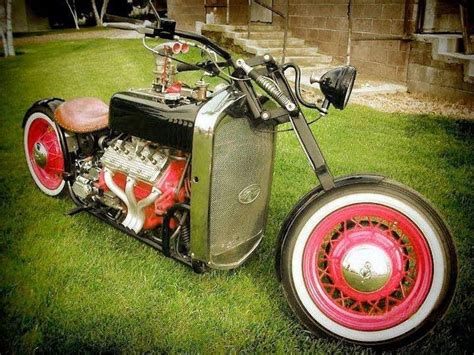 motorcycle with flathead ford engine ford engines