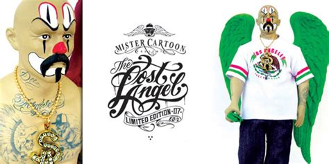mister cartoon tattoo prices mr cartoon quot lost angel quot toy release party hypebeast