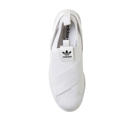 Adidas Supetstar Slip On White adidas superstar slip on white mono unisex sports