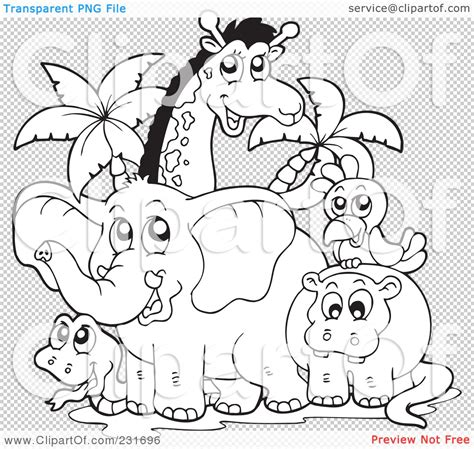 zoo background coloring page zoo clipart outline pencil and in color zoo clipart outline
