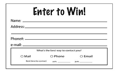 enter to win pads