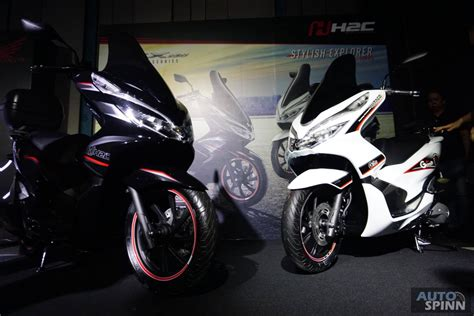 Pcx 2018 All New by Tokyo2017 ไม ใช แค คอนเซปต All New Honda Pcx Hybrid และ
