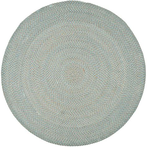 Safavieh Braided Multi 6 Ft X 6 Ft Round Area Rug Rugs 6 Ft