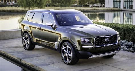 kia luxury kia telluride luxury suv concept cars kia cars