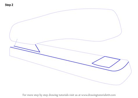 where to draw learn how to draw a stapler tools step by step drawing