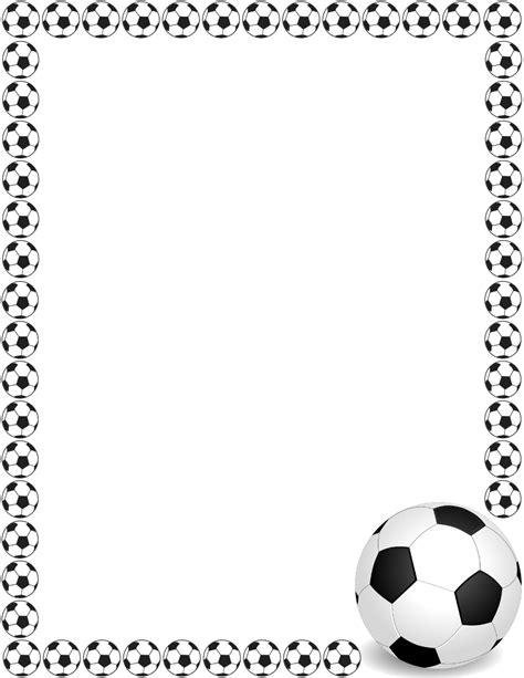 lined paper with football border soccer border 2 fonts borders clip art pinterest