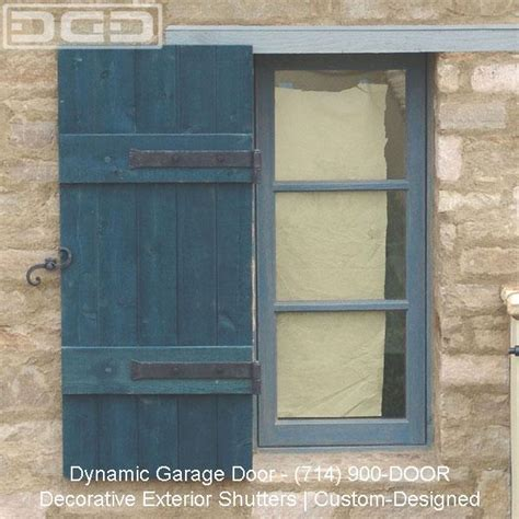 tuscan style shutters custom rustic cottage decorative
