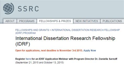 dissertation fellowships ssrc dissertation fellowship 28 images dissertation