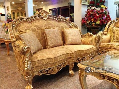 Kursi Tamu Bellagio Jati Asli kursi tamu sofa ukir mewah guest chairs