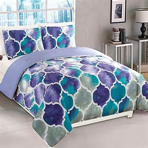 emmi comforter set in purple teal buybuy baby